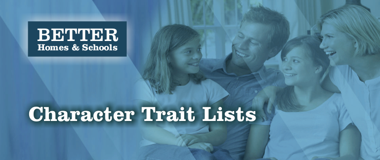 Family Character Trait Lists png